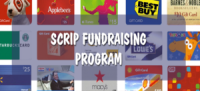 Scrip is a great way to shop while earning money for our school.